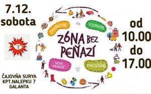 Zóna bez peňazí @ Čajovňa Surya