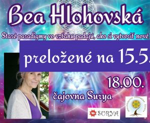 Bea Hlohovská @ Čajovňa Surya
