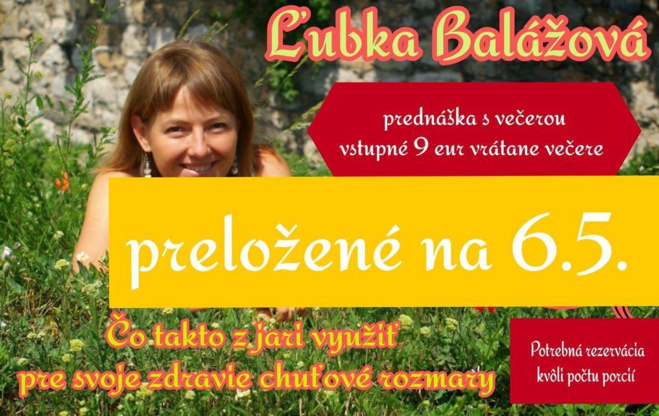 Ľubka Balážová